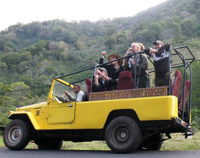 Boquete Safari Yellow Jeep Tour